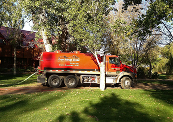 Front Range Septic Pumping Truck
