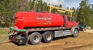 Front Range Septic Truck View