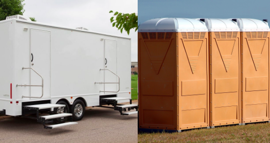 Restroom Rentals: Trailers or Porta-Potties
